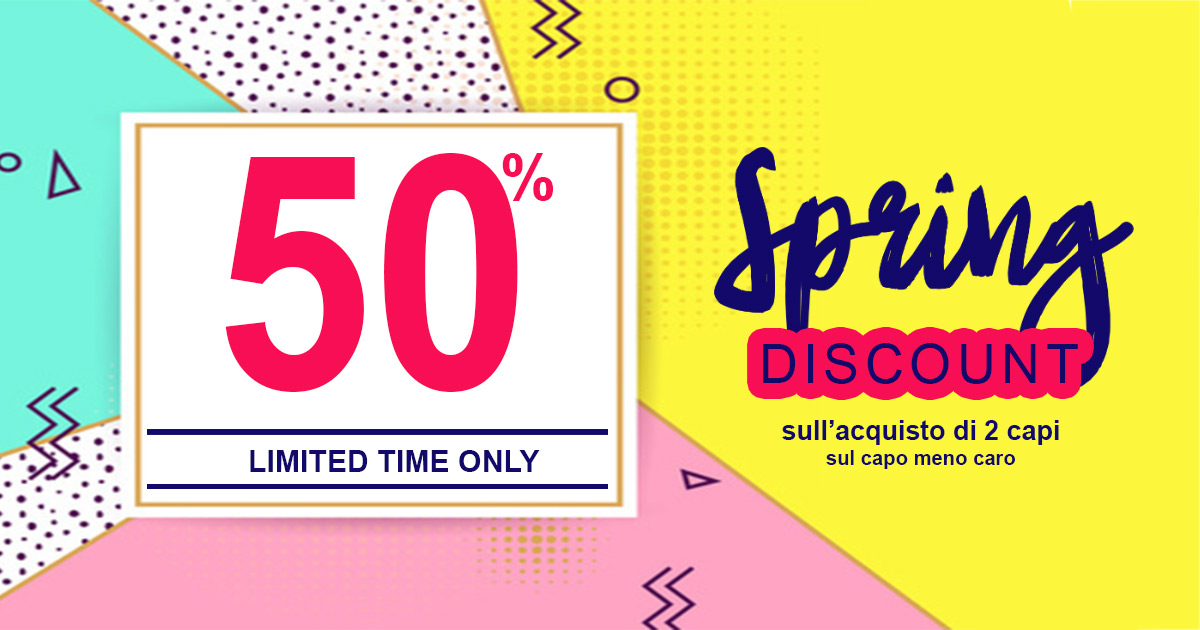 Spring discount